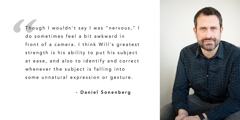 Daniel Sonenberg - Portrait Testimonial
