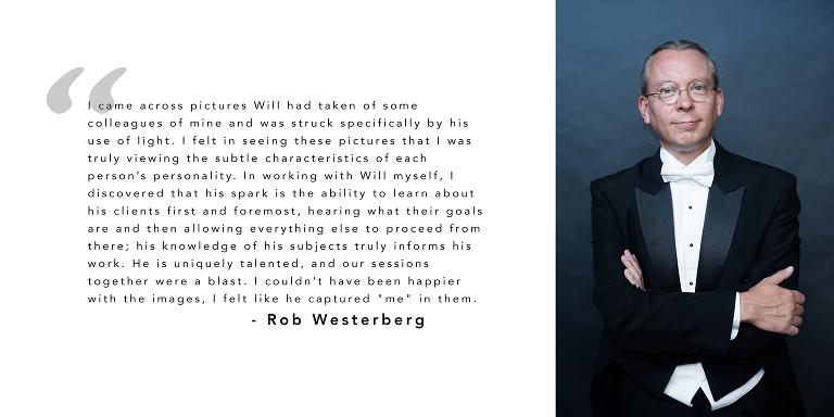 Rob Westerberg Testimonial
